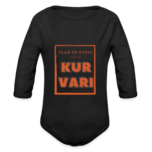 Clan of Gypsy - Position - Kurvari - Organic Longsleeve Baby Bodysuit