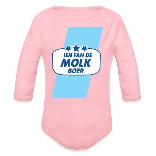 Molkboer - Baby bio-rompertje met lange mouwen