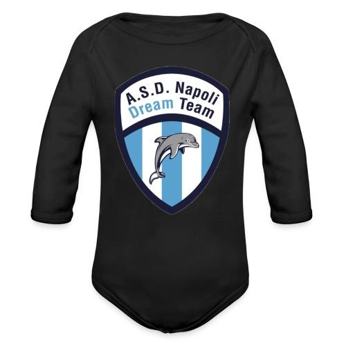 NDT logo - Body ecologico per neonato a manica lunga