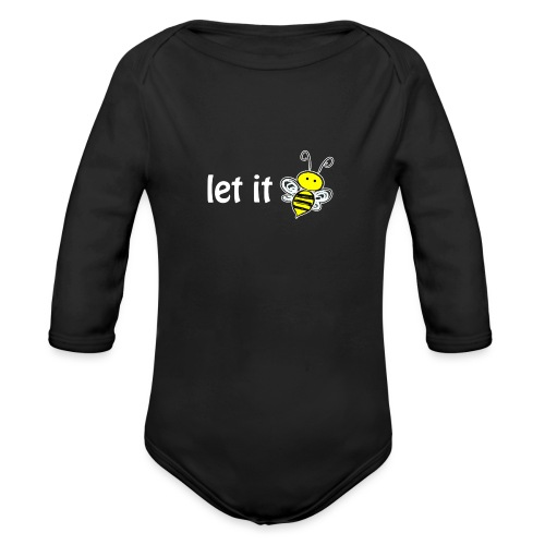 let it bee - Baby Bio-Langarm-Body