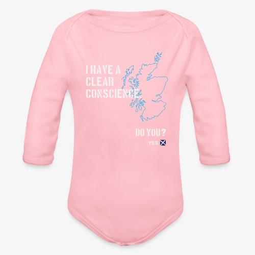 Clear Conscience - Organic Longsleeve Baby Bodysuit