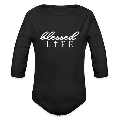 Blessed Life - Jesus Christlich - Baby Bio-Langarm-Body
