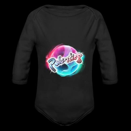 Polarities Logo - Organic Longsleeve Baby Bodysuit