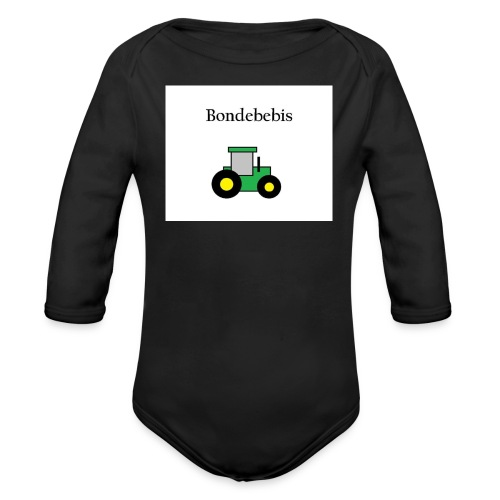Bondebebis jpg - Ekologisk långärmad babybody