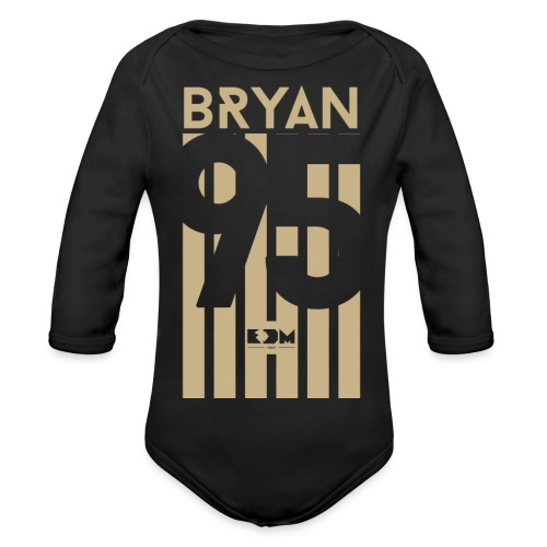 Bryan - Body ecologico per neonato a manica lunga