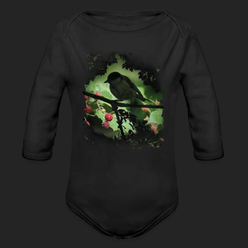 Petit oiseau dans la forêt - Body Bébé bio manches longues