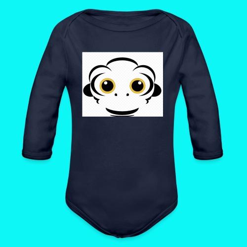 FullSizeRender_-2- - Langærmet babybody, økologisk bomuld