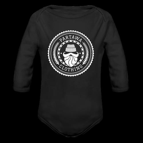 Partawa Clothing dark - Vauvan pitkähihainen luomu-body