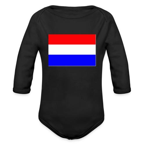 vlag nl - Baby bio-rompertje met lange mouwen
