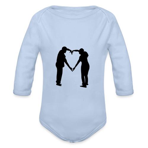 silhouette 3612778 1280 - Ekologisk långärmad babybody