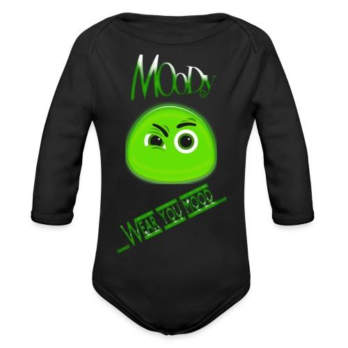 MOODY GOSTH - Body ecologico per neonato a manica lunga