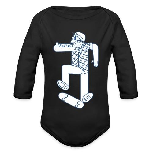 skater - Body Bébé bio manches longues