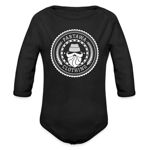Partawa Clothing black - Organic Longsleeve Baby Bodysuit