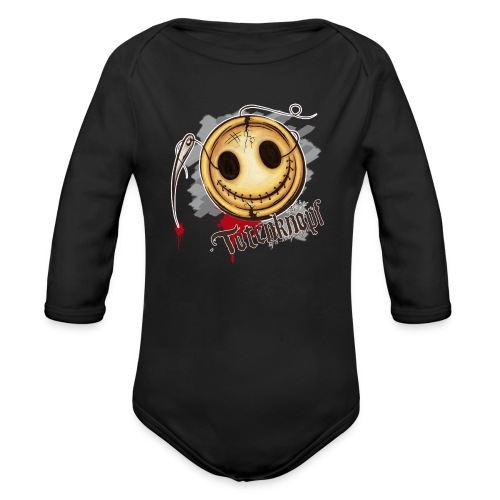 Totenknopf - Baby Bio-Langarm-Body