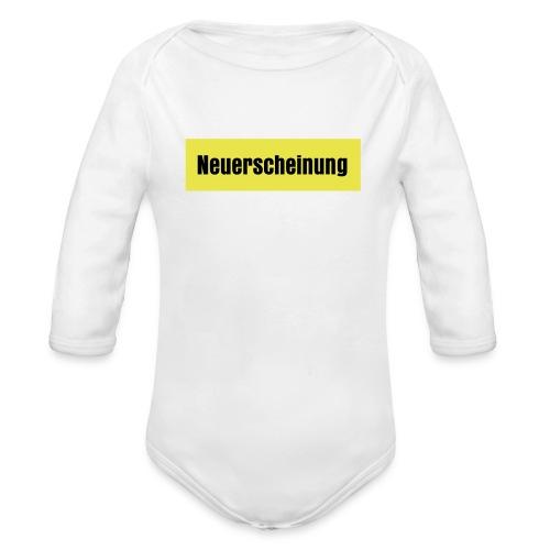 neuerscheinung - Baby Bio-Langarm-Body