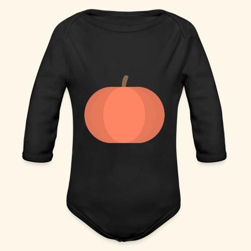 Pumpkin - Body Bébé bio manches longues