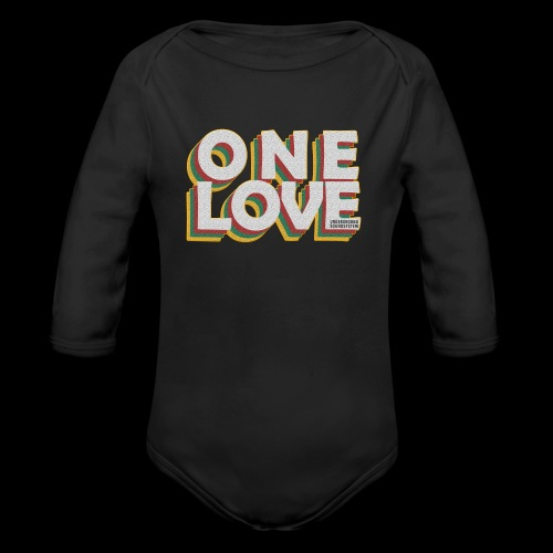 ONE LOVE - Baby Bio-Langarm-Body
