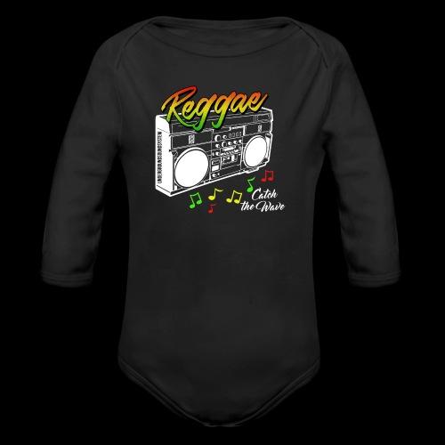 Reggae - Catch the Wave - Baby Bio-Langarm-Body