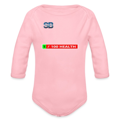 Health Tee Oh Shiiet! - Langærmet babybody, økologisk bomuld