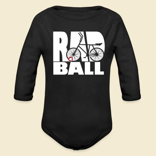 Radball | Typo - Baby Bio-Langarm-Body