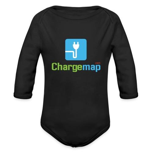 Logo ChargeMap - Body Bébé bio manches longues