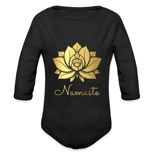 Namaste - Organic Longsleeve Baby Bodysuit