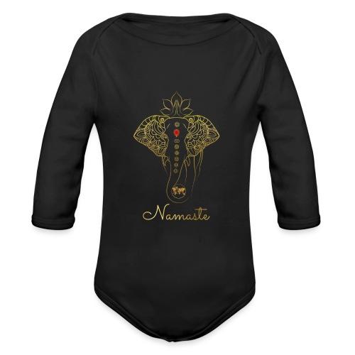 RUBINAWORLD - Namaste - Organic Longsleeve Baby Bodysuit