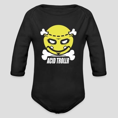 Acid TROLLR - Body Bébé bio manches longues