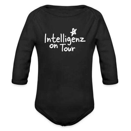 Nerd Shirt Intelligenz on Tour - Baby Bio-Langarm-Body
