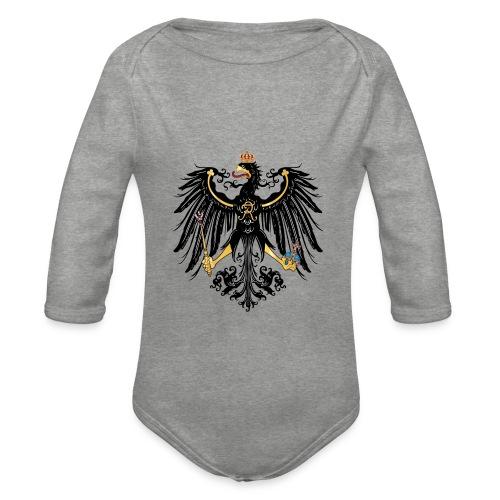 Preussischer Adler - Baby Bio-Langarm-Body