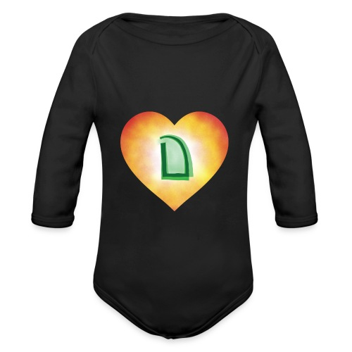 Dats Dramatic - Organic Longsleeve Baby Bodysuit