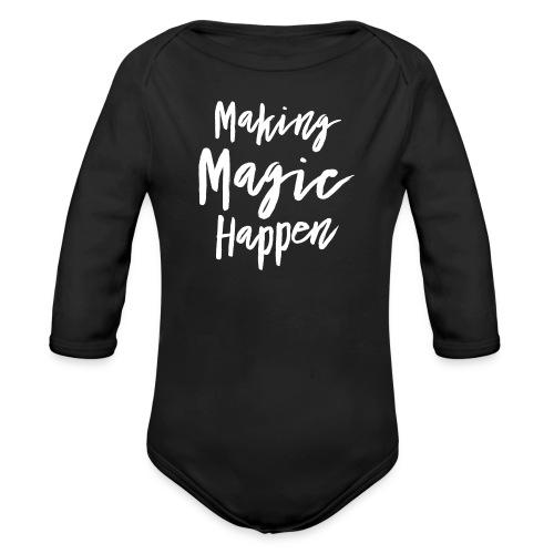 Making Magic Happen - Baby Bio-Langarm-Body