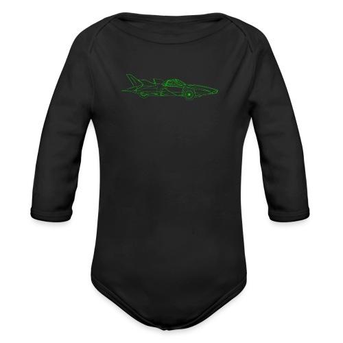 Futuristic Retro Auto - Organic Longsleeve Baby Bodysuit