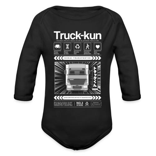 Truck-Kun Anime Shirt   Japanese Shirt White - Baby bio-rompertje met lange mouwen