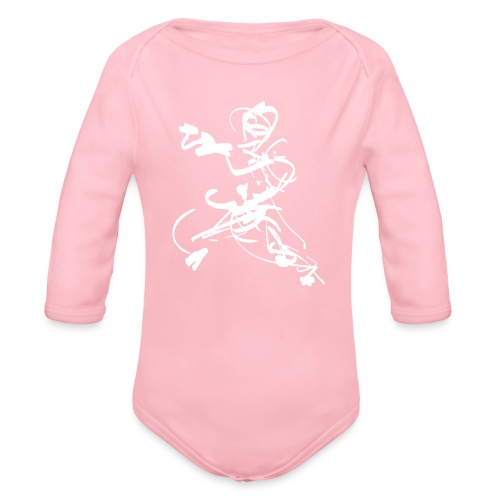 mantis style - Organic Longsleeve Baby Bodysuit