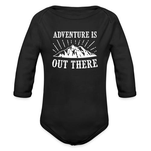 adventure - Ekologiczne body niemowlęce z długim rękawem