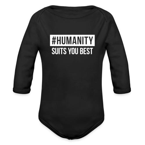women's Premium T-Shirt #humanity - Baby Bio-Langarm-Body