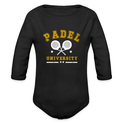 Padel University Vintage - Ekologisk långärmad babybody