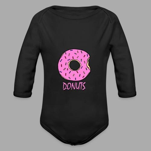 DONUTS - Body orgánico de manga larga para bebé