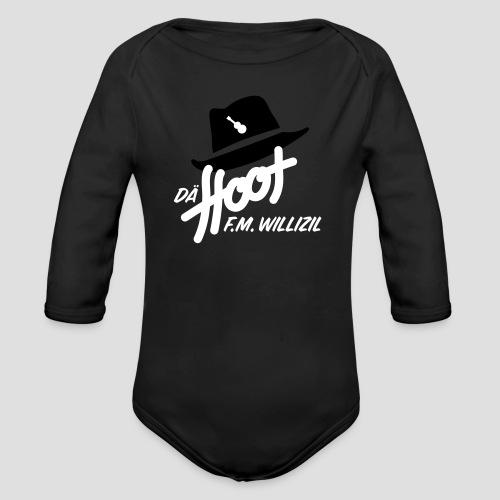 daeHoot_Shirt_Logo1_2c - Baby Bio-Langarm-Body