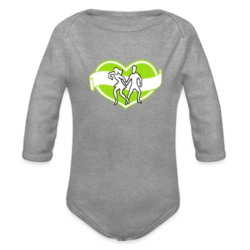 Spreadshirt - Ekologisk långärmad babybody