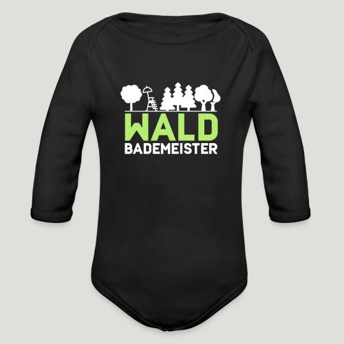 Waldbademeister für das Waldbaden im Waldbad - Baby Bio-Langarm-Body