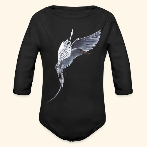 Weißschwanz Tropenvogel - Baby Bio-Langarm-Body