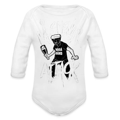 På Svenska Tack - Organic Longsleeve Baby Bodysuit