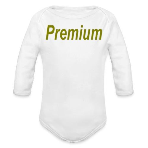 Premium - Organic Longsleeve Baby Bodysuit