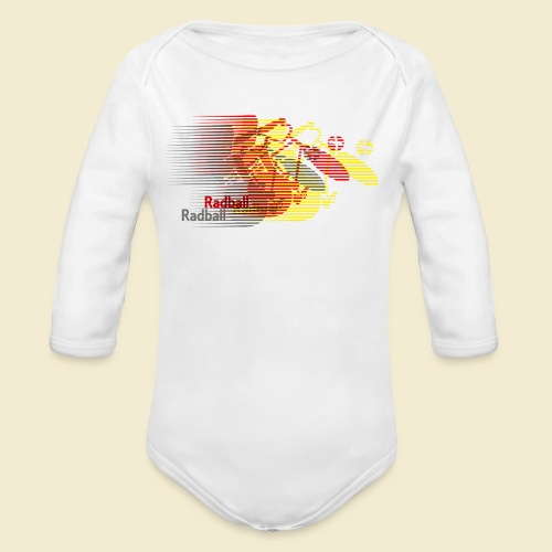 Radball | Earthquake Germany - Baby Bio-Langarm-Body