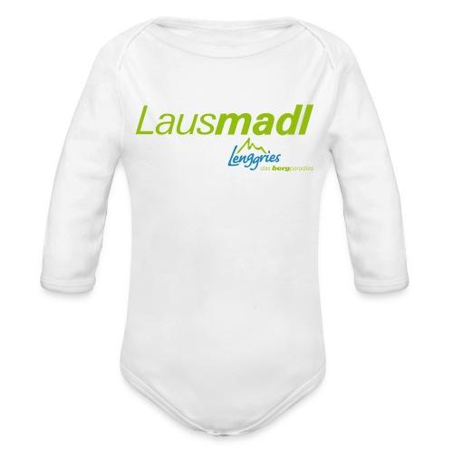 Lausmadl 2 Kinder - Baby Bio-Langarm-Body