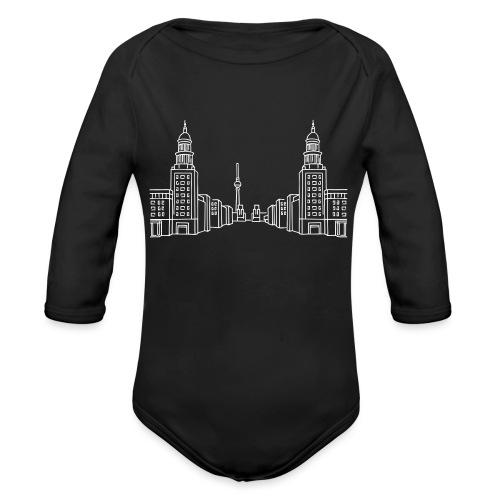 Frankfurter Tor Berlino - Body ecologico per neonato a manica lunga