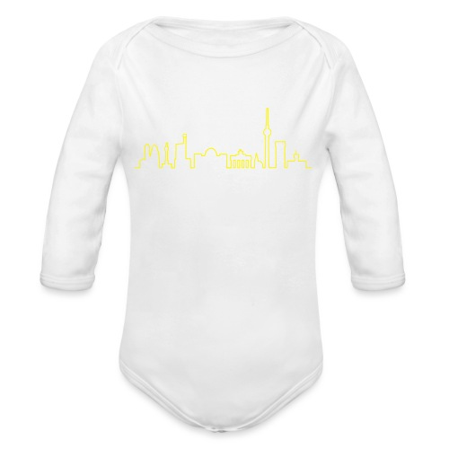 Skyline Berlin - Baby Bio-Langarm-Body