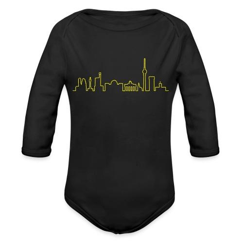 Skyline di Berlino - Body ecologico per neonato a manica lunga